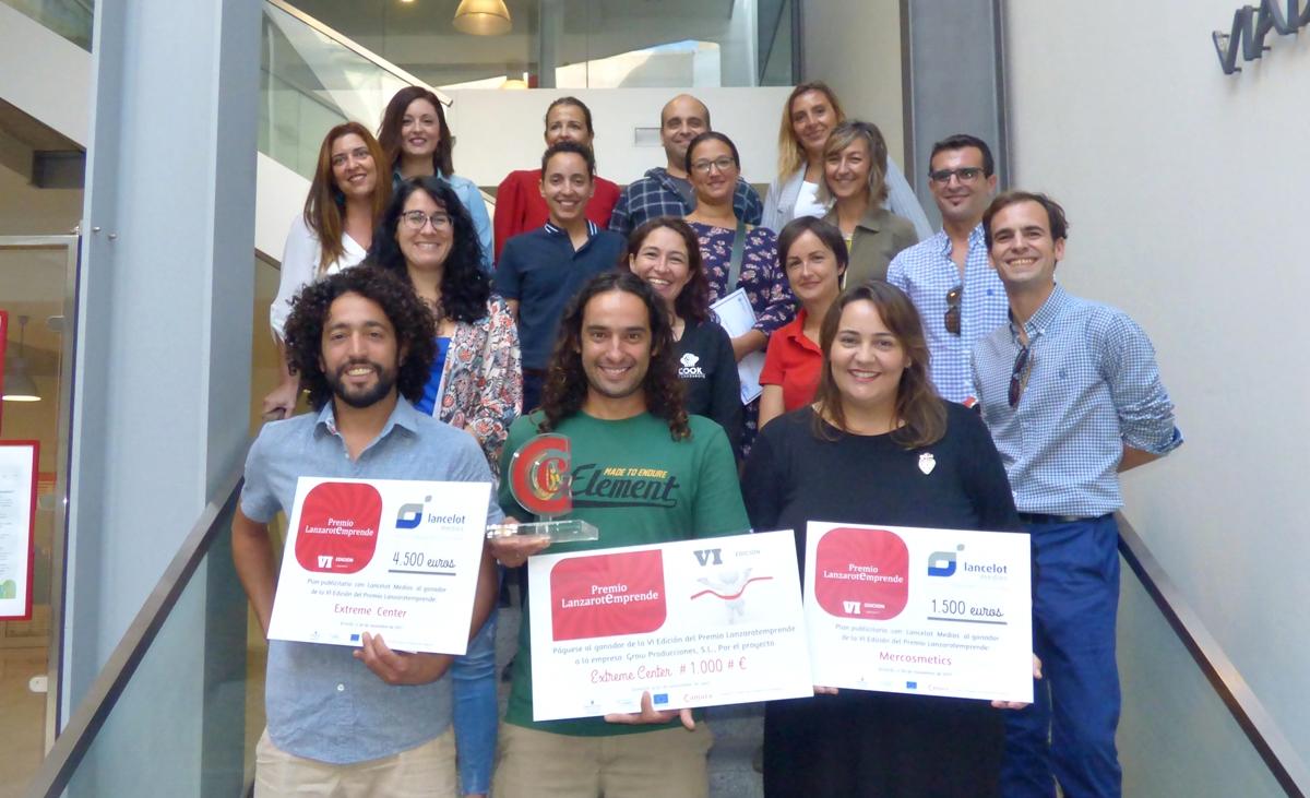 'Extreme Center' gana el premio Lanzarotemprende 2017